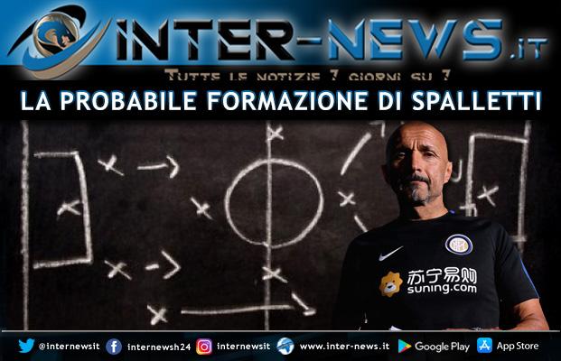 Spalletti probabile formazione Inter
