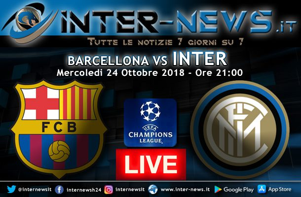 Barcellona-Inter-Live