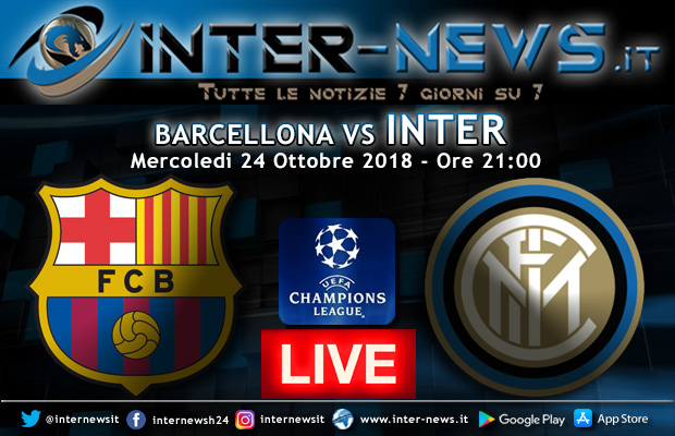 Barcellona-Inter-Live