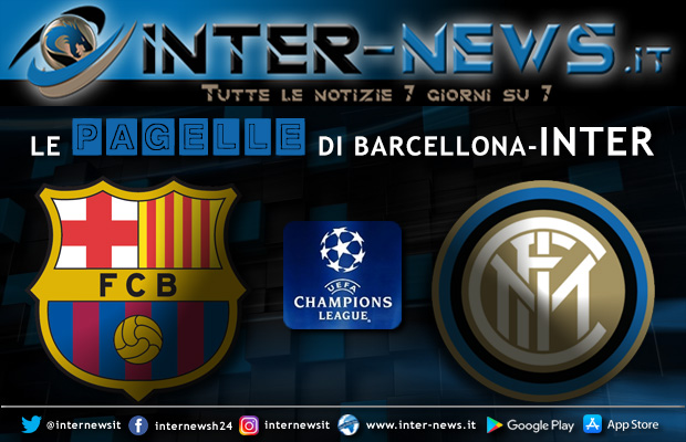 Pagelle Barcellona-Inter