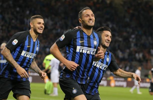D'Ambrosio Icardi Inter-Fiorentina