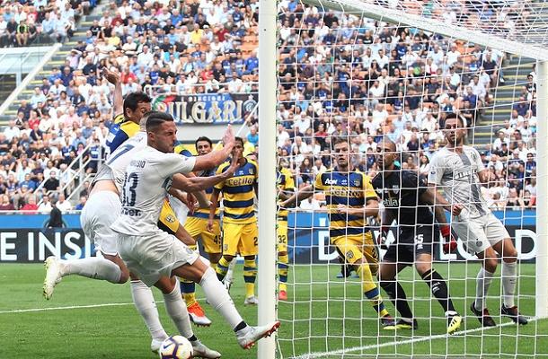 Danilo D'Ambrosio Inter-Parma