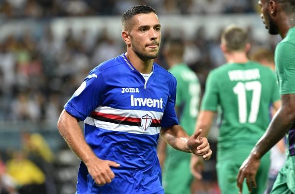 Gianluca Caprari Sampdoria-Fiorentina
