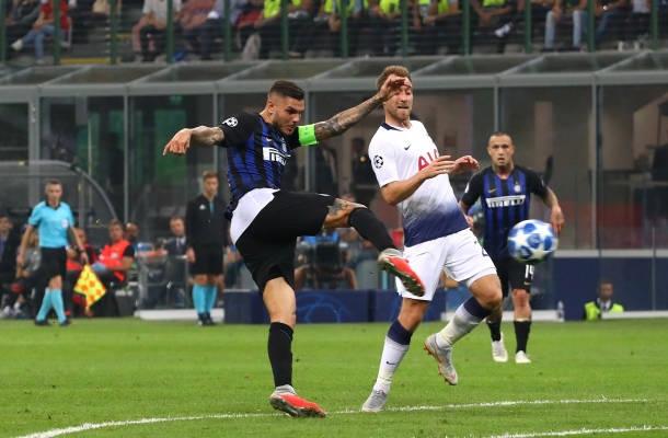 Gol Icardi Inter-Tottenham