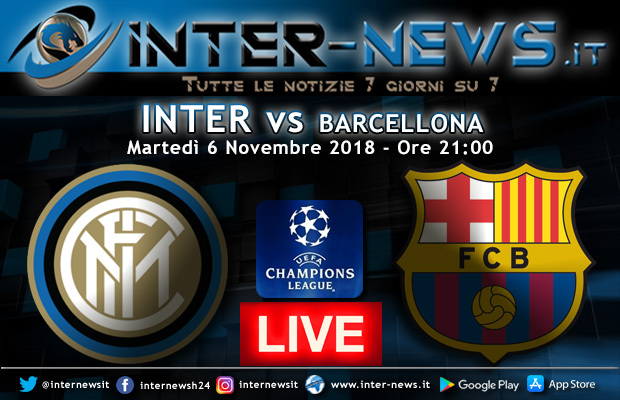 Inter-Barcellona-Live