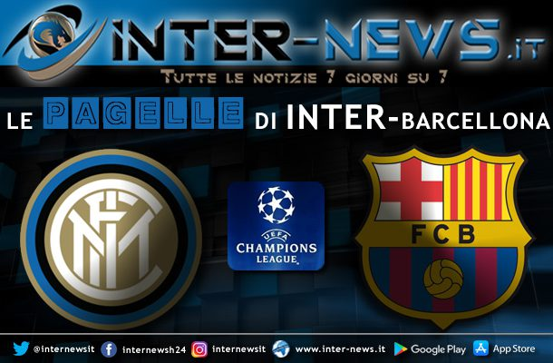 Pagelle Inter-Barcellona