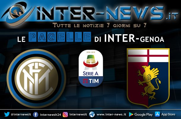Pagelle Inter-Genoa