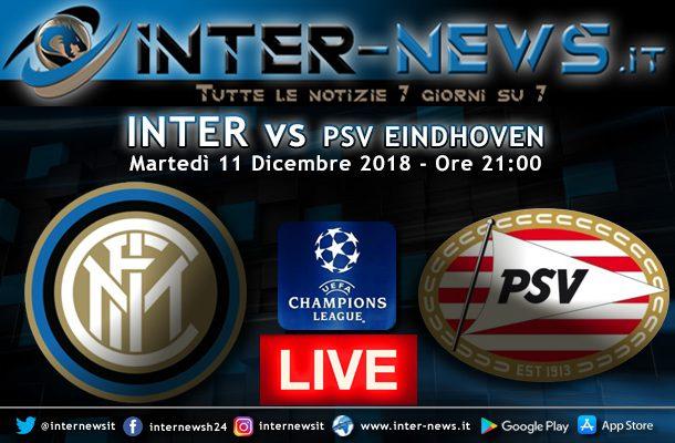 Inter-PSV-Eindhoven-Live