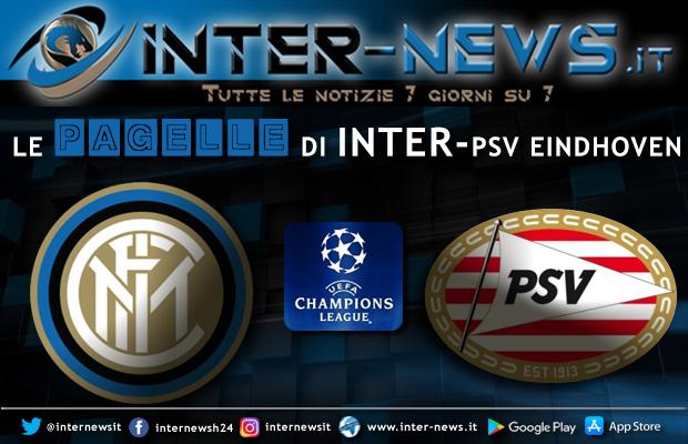 Pagelle Inter-PSV