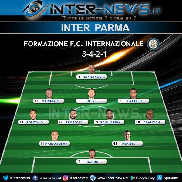 Inter-Parma Formazione Finale