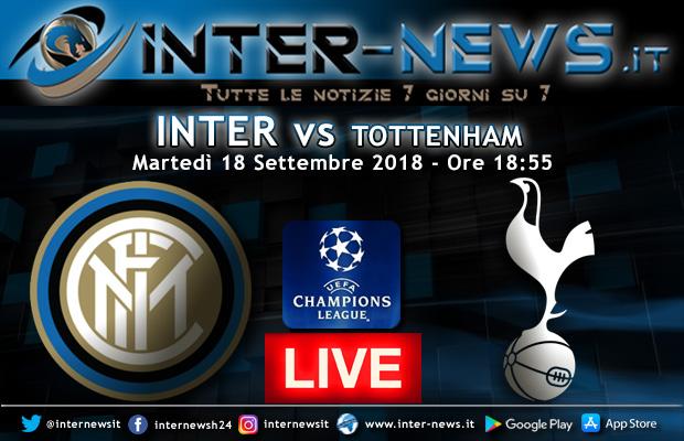 Inter-Tottenham-Live