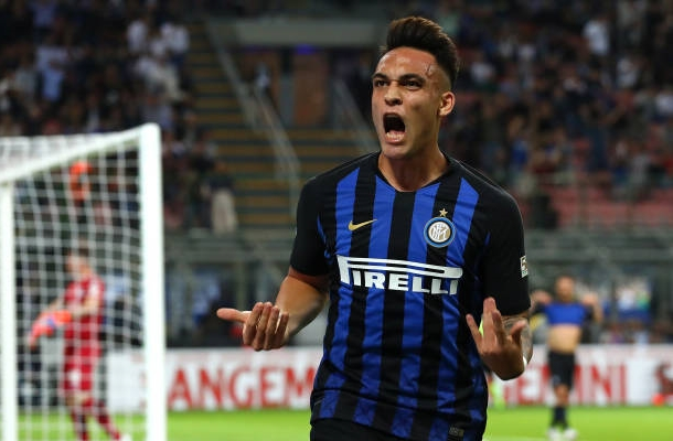 Lautaro Martinez Inter-Cagliari