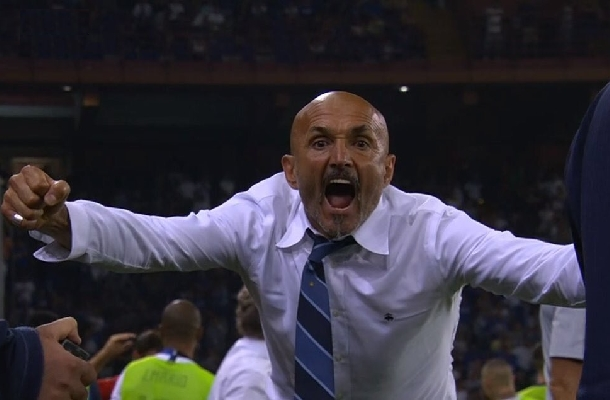 Luciano Spalletti Sampdoria-Inter