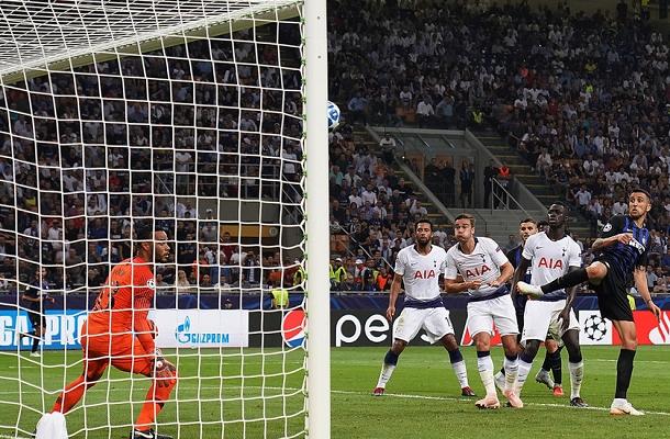 Matias Vecino Inter-Tottenham