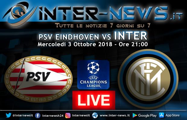 PSV-Eindhoven-Inter-Live