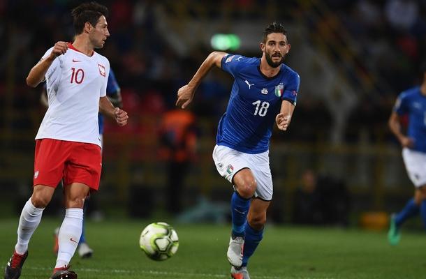 Roberto Gagliardini Italia-Polonia