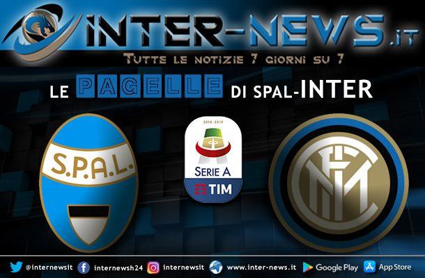 Pagelle Spal-Inter