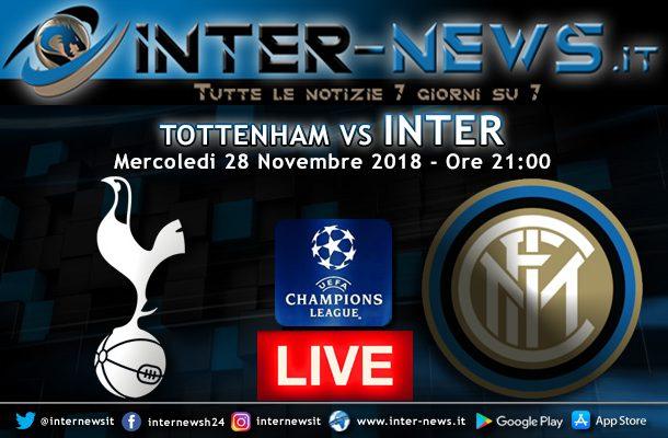 Tottenham-Inter-Live