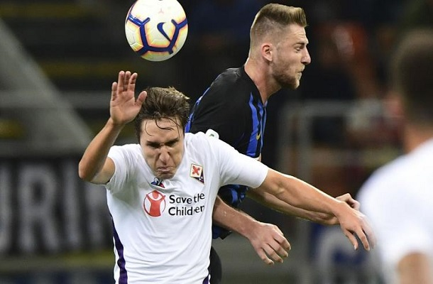 Chiesa-Skriniar Inter-Fiorentina