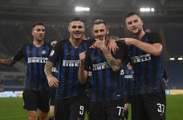 Brozovic Icardi Skriniar Vecino Lazio-Inter