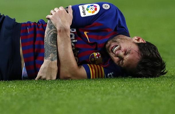 Lionel Messi Barcellona-Siviglia