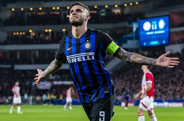 Mauro Icardi PSV Eindhoven-Inter