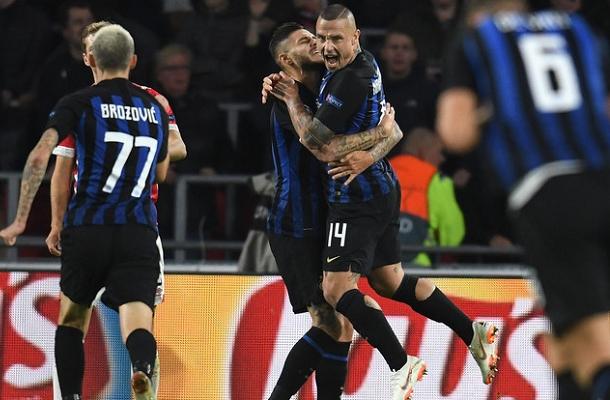 Nainggolan Icardi PSV Eindhoven-Inter