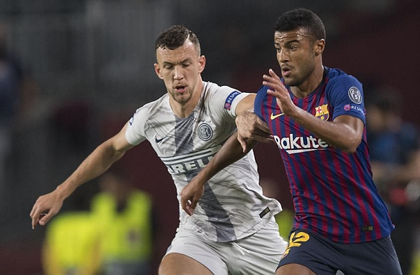 Rafinha Perisic Barcellona-Inter