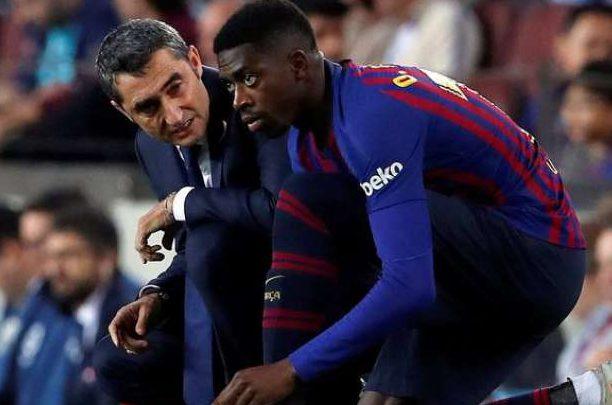 Valverde Dembélé Barcellona
