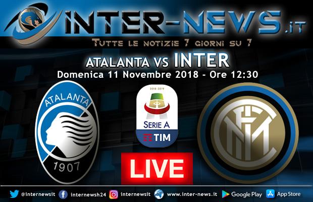 Atalanta-Inter-Live