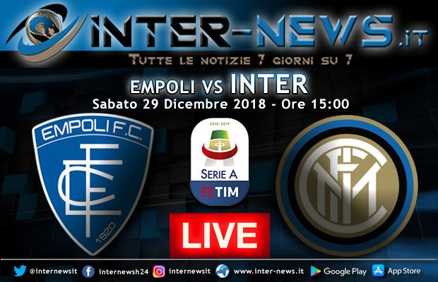 Empoli-Inter-Live