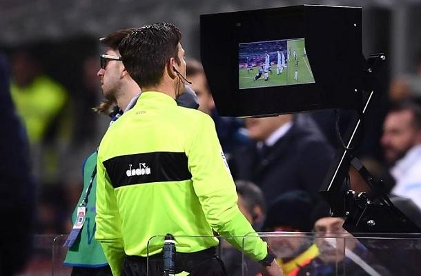 Gianluca Rocchi VAR Inter-Lazio