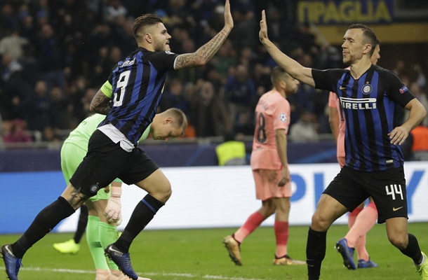 Icardi Perisic Inter-Barcellona