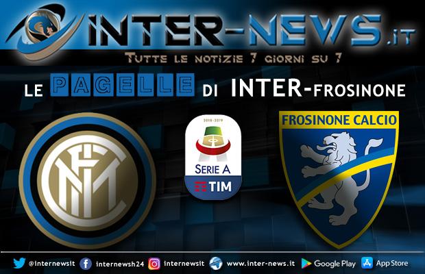 Pagelle Inter-Frosinone