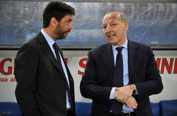 Andrea Agnelli e Beppe Marotta