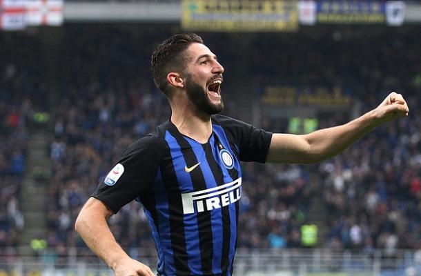 Roberto Gagliardini Inter-Genoa