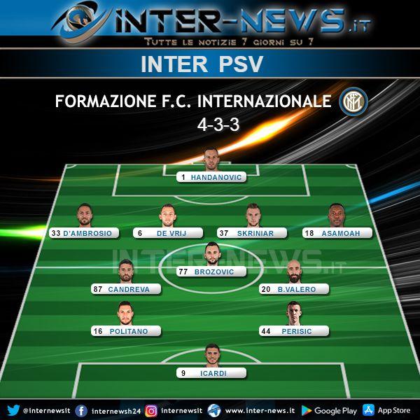Inter-PSV Formazione Ufficiale