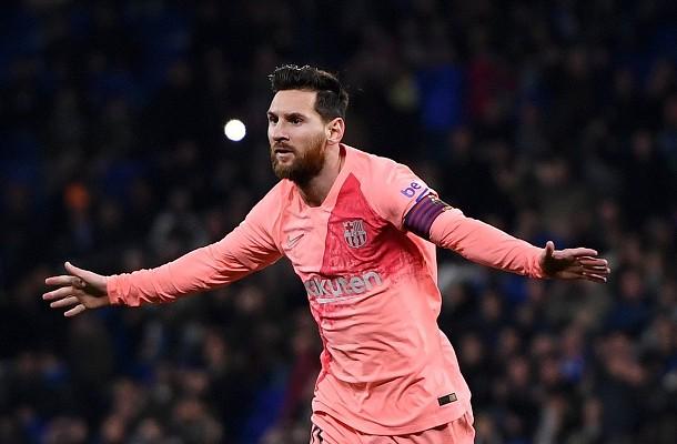 Lionel Messi Espanyol-Barcellona