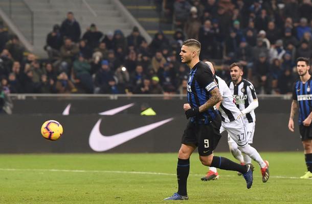 Mauro Icardi rigore Inter-Udinese