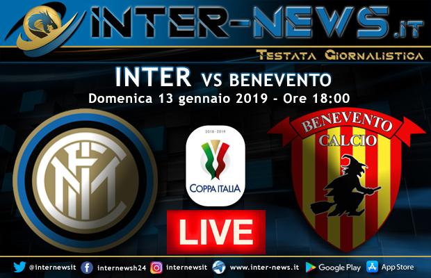Inter-Benevento-Live