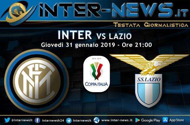 Inter-Lazio-Coppa Italia