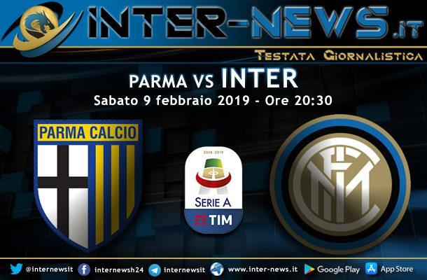 Parma Inter Le Probabili Formazioni Della 23ª Giornata In Serie A Inter News