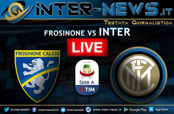 Frosinone-Inter-Live