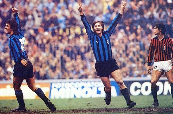 Gabriele Oriali Milan-Inter