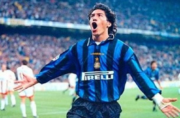 Ivan Zamorano Inter-Milan