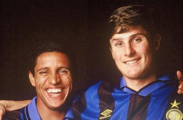 Javier Zanetti Roberto Carlos Inter
