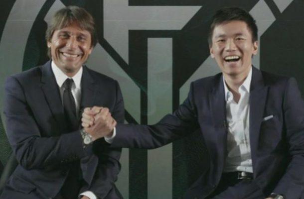 Antonio Conte Steven Zhang Inter