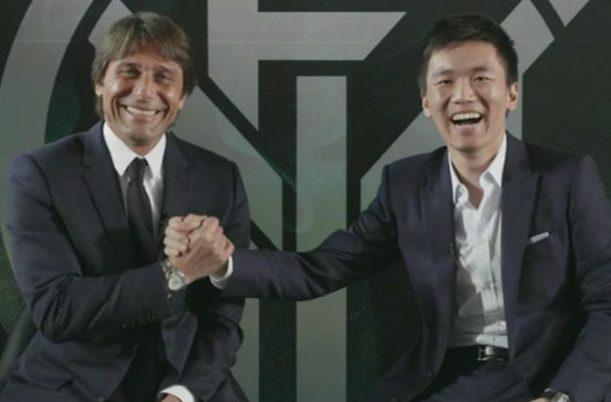 Antonio Conte e Steven Zhang - Inter