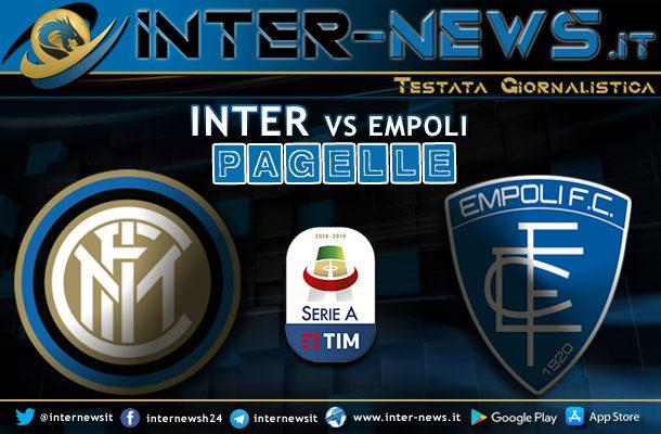 Inter-Empoli-Pagelle
