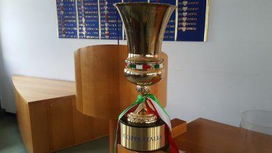 Coppa Italia trofeo sorteggio